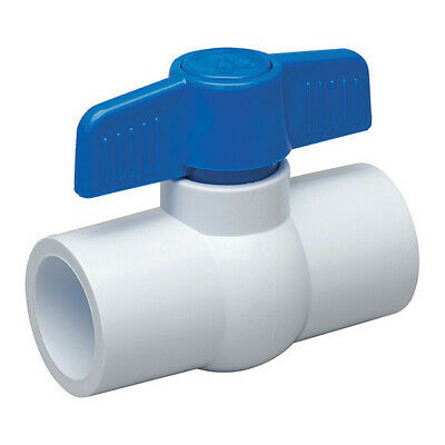 "Threaded Pack of 12 PVC COMPACT BALL VALVE 1 /"" Sanipro  -"