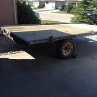 8x12 two place sled/atv trailer