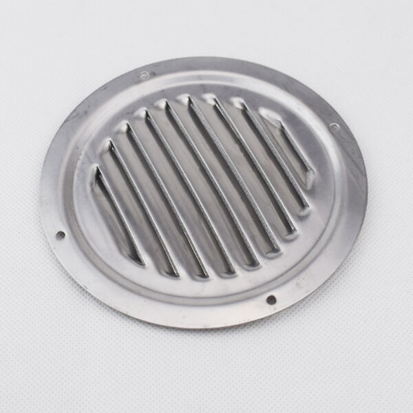 Stainless Steel Air Grille : Nice quot round louvre air vent stainless steel ventilation