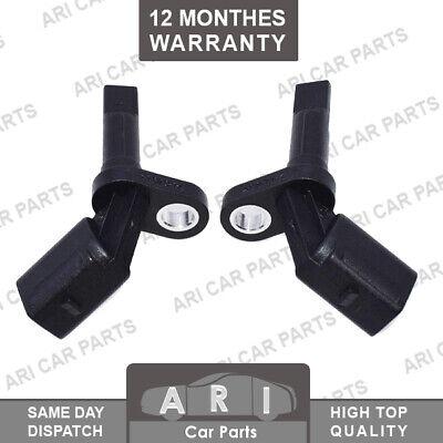 2X ABS SPEED SENSOR FRONT REAR L&R FITS AUDI A4 B8 A5 A6 4G A7 A8 Q5 8R PHEATON
