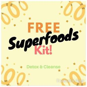 FREE Superfoods 10-Day Detox Kit!