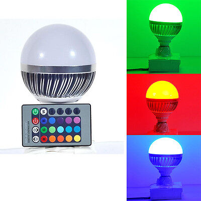 Best 12W Magic Multi-color RGB LED Light Change Lamp Bulb With Remote