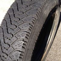 Toyota Tercell Winter Tires with Rims - 4
