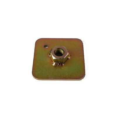 4 x FIA Einschweißplatte für Gurtschrauben ,Stahl Verstärkungsplatte ,Gurtplatte