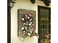 Brick Effect Wall Planter - Brand New and still in box - Measures 88cm x 68cm x 20cm