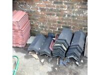 House Shed Garage Roof Slates Hip Ridge Tiles Offers, Job Lot / Singles