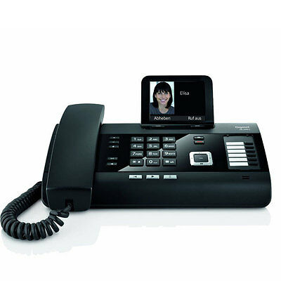 Gigaset DL 500 A Drahtgebundenes Telefon mit Anrufbeantworter Ethernet-Anschluss