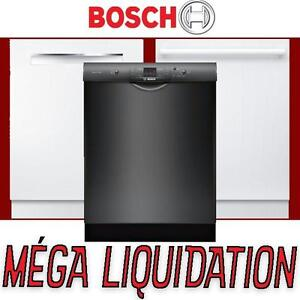 3 models NEW IN BOX  –Bosch dishwasher – white and black LIQUIDATION