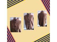 Danity t u women's brown cardigan size L/XL