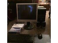 Novatech pc desktop plus accessories and software. 4GB 500GB