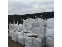 Topsoil, Ballast, Type 1 scalpings in 1 ton bags delivered loose or Craine delivery