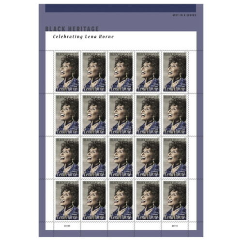 USPS New Lena Horne Pane of 20