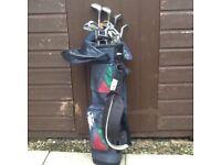 Titleiest golf clubs c/w bag