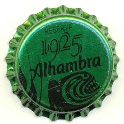 ALHAMBRA 1925 (1). CHAPA CERVEZA ABIERTA. TAPÓN CORONA. BEER BOTTLE CAPS.