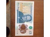 AA01 AA02 AK47 3xfive pound notes