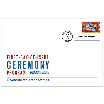 USPS New Lunar New Year Rooster Ceremony Program
