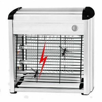 Mosquitera Eléctrico 16WATT Insectos Mata los Mosquitos Vuela 2 Lámparas Dst