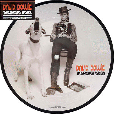 """David Bowie - Diamond Dogs 40th anniversary 7"""" picture disc New Sealed 2014"""