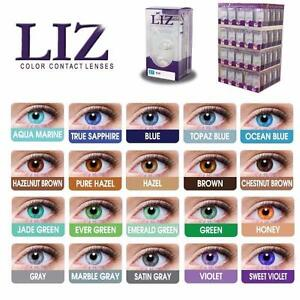 Liz Contact Lenses $20 - 30 different colors great For Halloween Parties, Cosplay, Haunted Houses