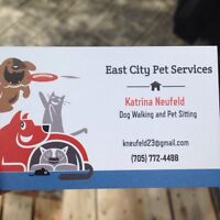 East City Pet Services - dog walking and pet sitting