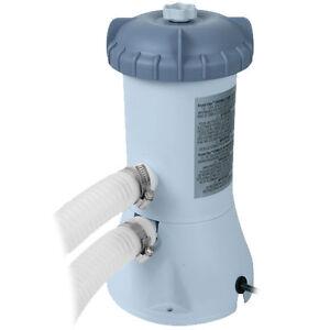 Intex Swimming Pool Filter Pump Krystal Clear 15ft to 18ft 1000 Gallon Per Hour