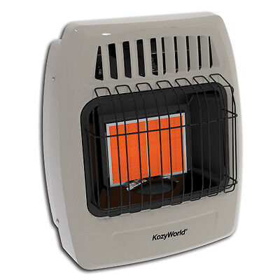 Kozy-Community KWP212 Propane Infrared Enunciate Unbind Space Impediment Heater, 12000 BTU