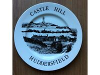 CASTLE HILL HUDDERSFIELD LTD EDITION COLLECTABLE PLATE