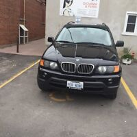 2003 BMW X5 low kms very clean! Cert and e-tested