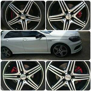 5x112 stud Pattern Mercedes AMG Rims with Tyres Ormeau Hills Gold Coast North Preview