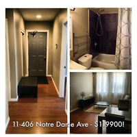 BETTER THAN RENTING! 2 Bedroom RENOVATED condo Downtown!