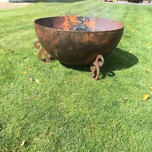 FIRE BOWLS AND CRUSHER CONES