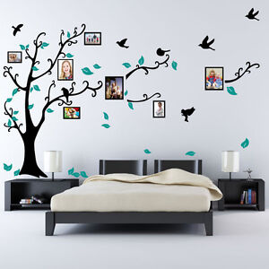 Family-Tree-Bird-Photo-Frame-Nursery-Wall-Quotes-Wall-Stickers-Wall-Art