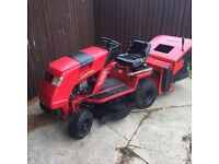 Countax K18 ride on lawn mower sit on garden tractor