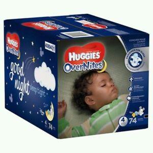 Huggies® OverNites Diapers, Size 4.