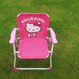 Hello kitty deckchair