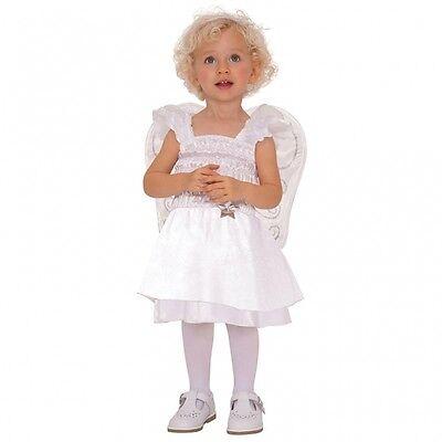 Engel Kostüm Gr. 80 86 mit Flügeln Mädchen - Engel Kostüm Mädchen