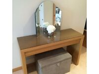 Dressing table & mirror £55