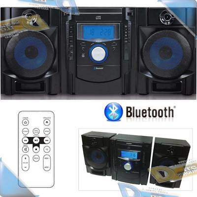 NEW SYLVANIA Bluetooth CD Stereo Shelf System w/Digital FM R