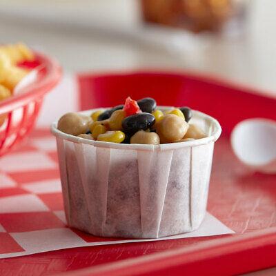 Genpak Harvest Compostable Paper Souffle Cup White 3.25 Oz. 5000case
