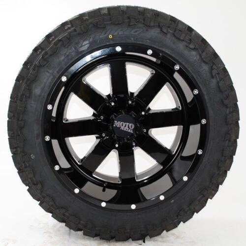 20x12 Moto Metal 962 Atturo Trail Blade Mt 37x13.50r20 Wheels Tires
