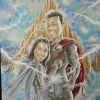 SUPERHERO  CARICATURES drawn THE MARVEL WAY: AMAZING GIFTS!!!