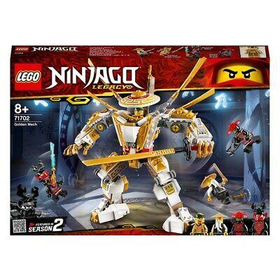 LEGO 71702 NINJAGO Legacy Golden Mech Action Figure with Lloyd