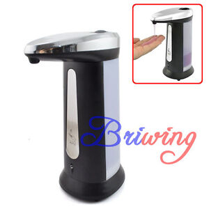 Automatic Smart Sensor Soap Sanitizer Dispenser 400ml Touchless Handsfree