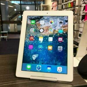GOOD CONDITION IPAD 2 16GB CELLULAR SILVER UNLOCKED WARRANTY