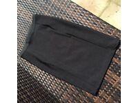 Bandage style tight black pencil skirt from Zara