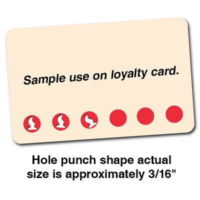 Loyalty Hole Punch - 316 Flame Fire