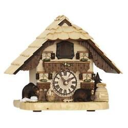 HERMLE BENDORF Tabletop Quartz Cuckoo Clock #66000 by Trenkle Uhren 27% Off MSRP