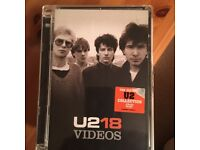 U2 18 Videos collection Cd