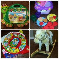 kids toys + clothes & more