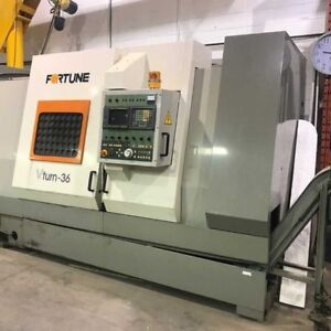 THREE FORTUNE CNC LATHES AVAILABLE